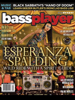 Bass Player: Esperanza Spalding